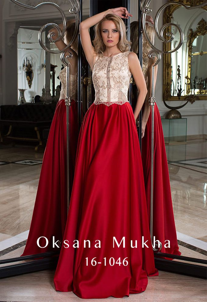 Evening dresses AW 2016-2017 by OKSANA MUKHA - 027