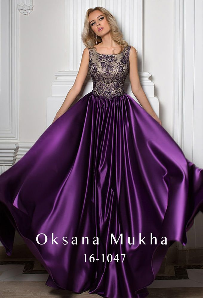 Evening dresses AW 2016-2017 by OKSANA MUKHA - 028