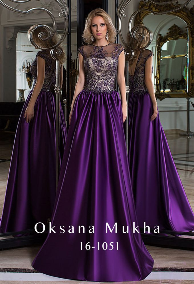 Evening dresses AW 2016-2017 by OKSANA MUKHA - 030