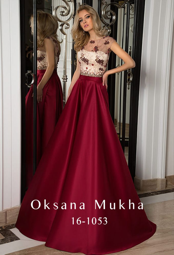 Evening dresses AW 2016-2017 by OKSANA MUKHA - 031