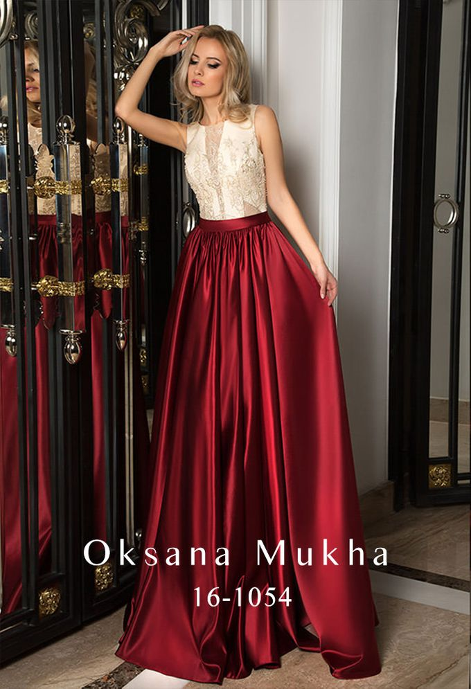 Evening dresses AW 2016-2017 by OKSANA MUKHA - 032