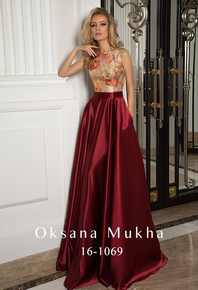 Evening dresses AW 2016-2017 by OKSANA MUKHA - 033