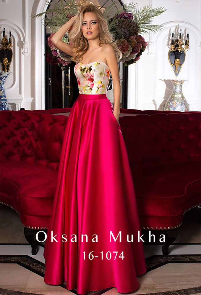 Evening dresses AW 2016-2017 by OKSANA MUKHA - 034