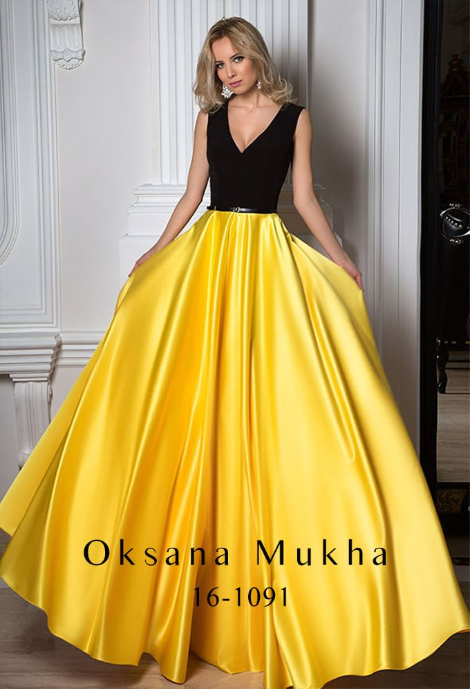 Evening dresses AW 2016-2017 by OKSANA MUKHA - 037
