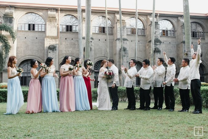 A Modern Filipiniana Wedding of Richie & Kyle by Peach Frost Studio - 040