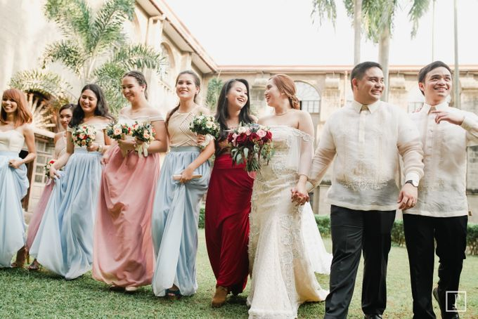 A Modern Filipiniana Wedding of Richie & Kyle by Peach Frost Studio - 041