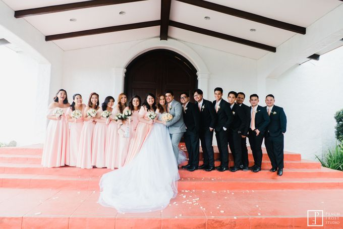 A Peach Themed Tagaytay Woodlands Wedding of Tina & Niel by Peach Frost Studio - 026