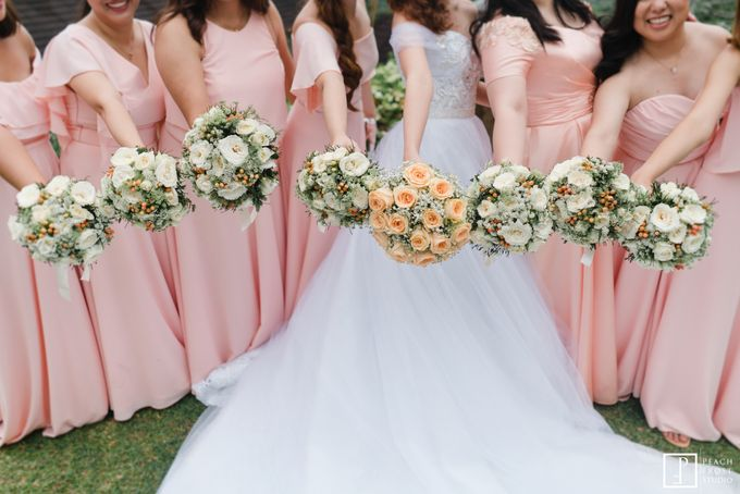 A Peach Themed Tagaytay Woodlands Wedding of Tina & Niel by Peach Frost Studio - 028