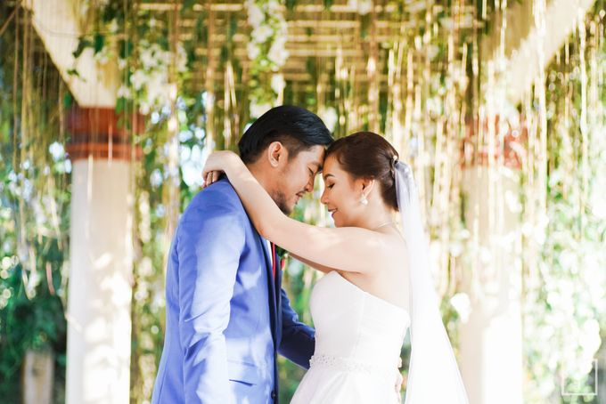 Blue Themed Wedding of CJ  and  Jane by Peach Frost Studio - 041