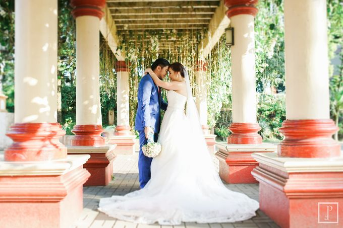 Blue Themed Wedding of CJ  and  Jane by Peach Frost Studio - 042