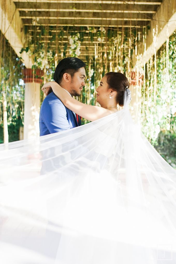 Blue Themed Wedding of CJ  and  Jane by Peach Frost Studio - 043
