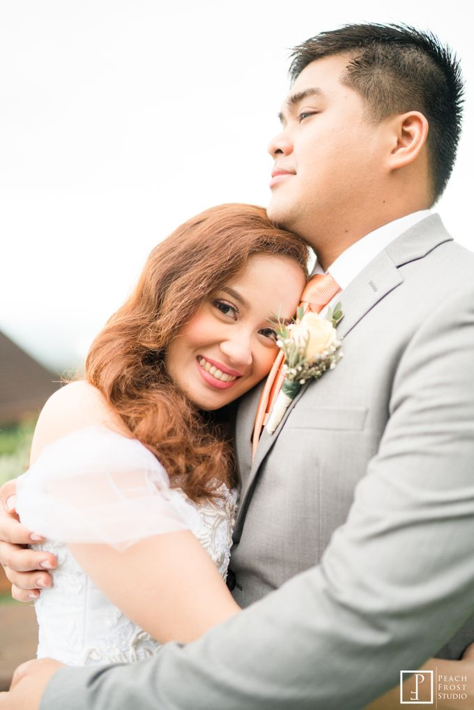 Tina & Niel's Peach Themed Intimtate Wedding in Tagaytay Highlands by Peach Frost Studio - 039