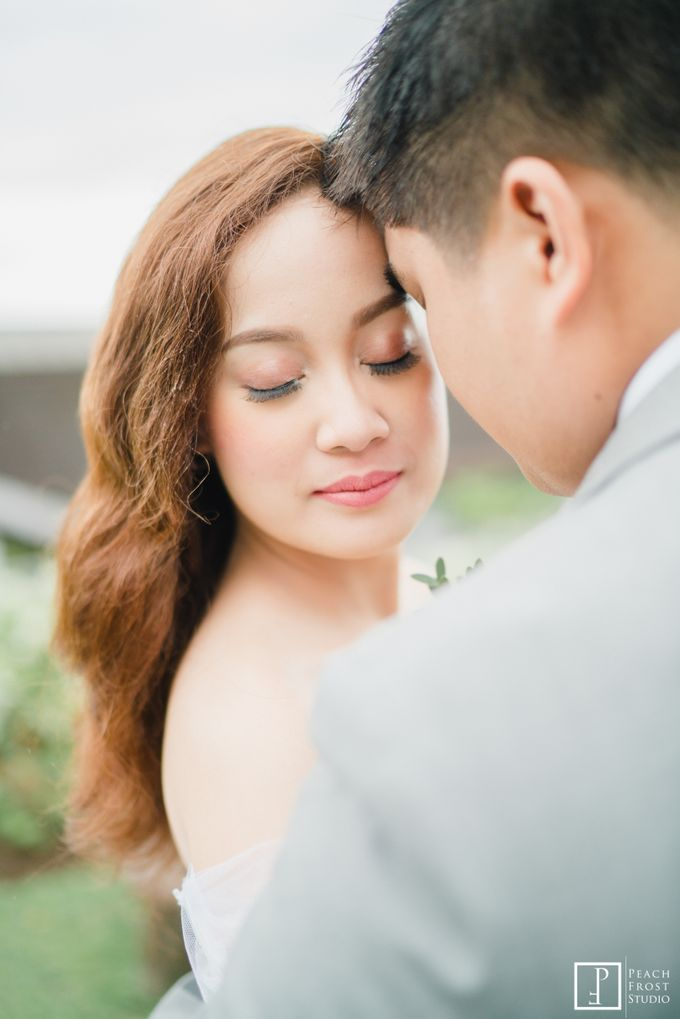 Tina & Niel's Peach Themed Intimtate Wedding in Tagaytay Highlands by Peach Frost Studio - 042