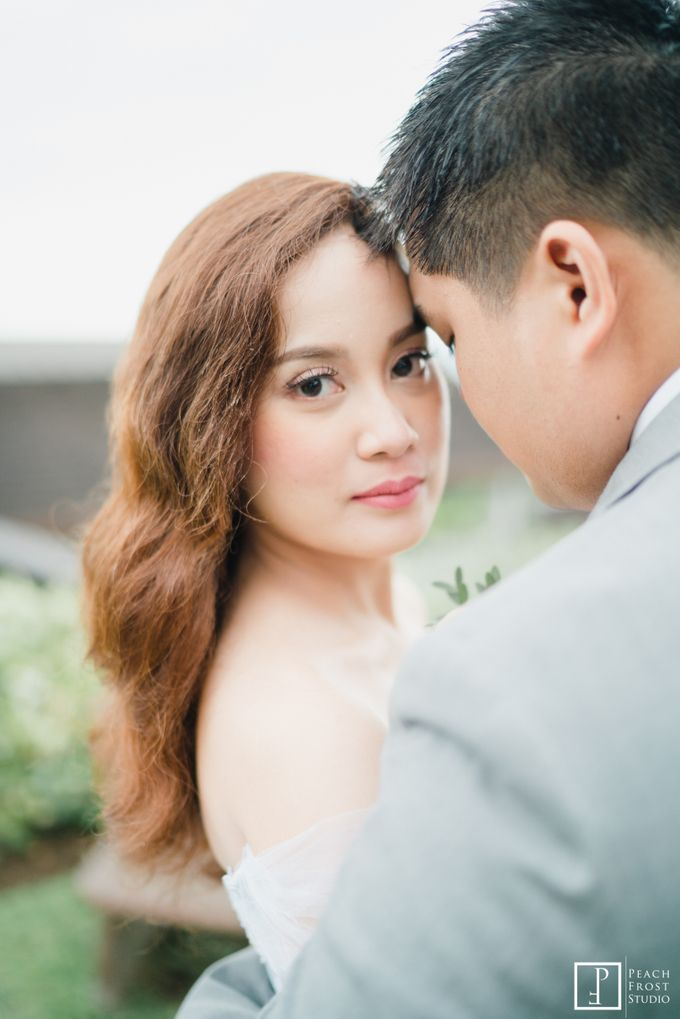 Tina & Niel's Peach Themed Intimtate Wedding in Tagaytay Highlands by Peach Frost Studio - 043