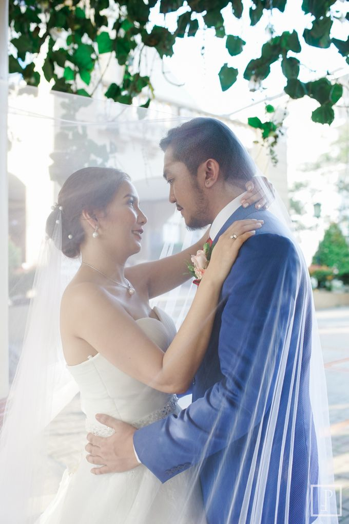 Blue Themed Wedding of CJ  and  Jane by Peach Frost Studio - 044