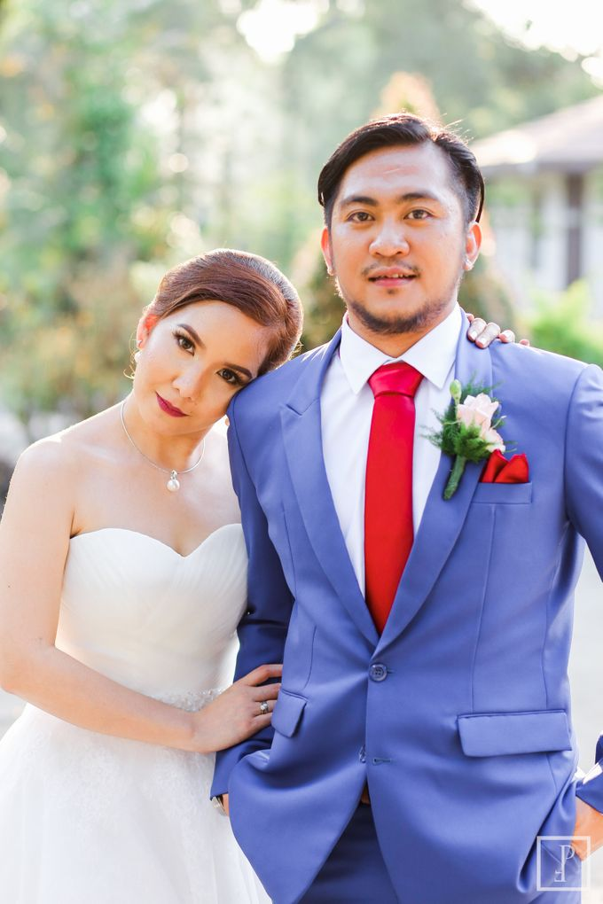 Blue Themed Wedding of CJ  and  Jane by Peach Frost Studio - 046
