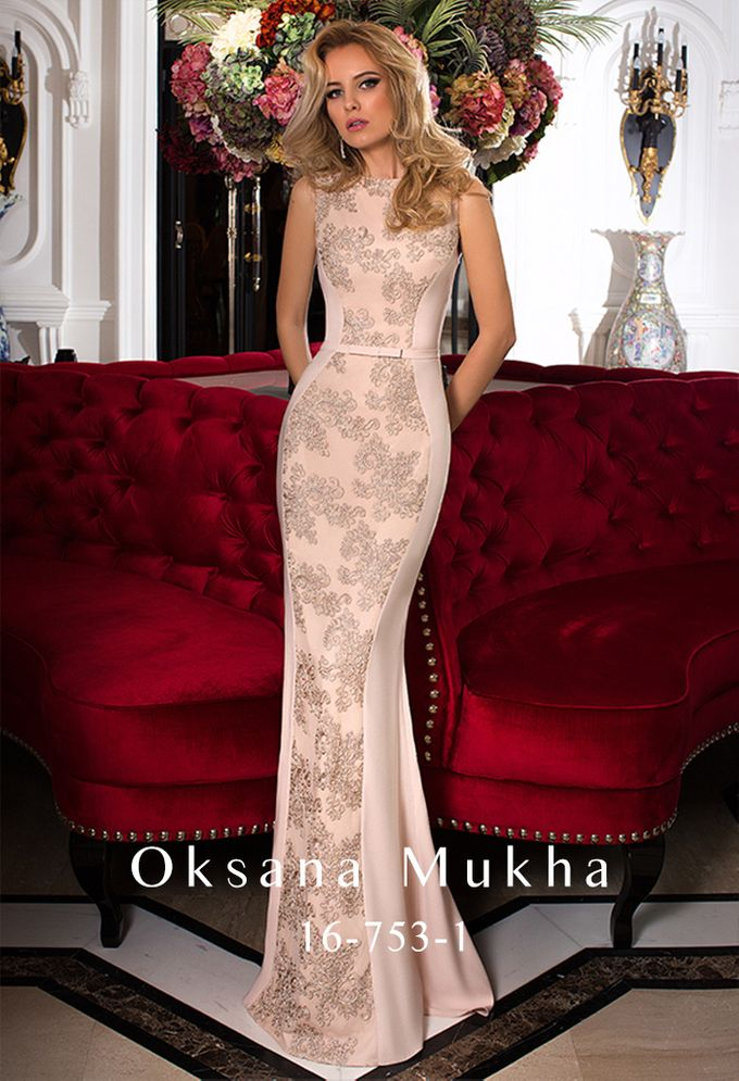 Evening dresses AW 2016-2017 by OKSANA MUKHA - 001