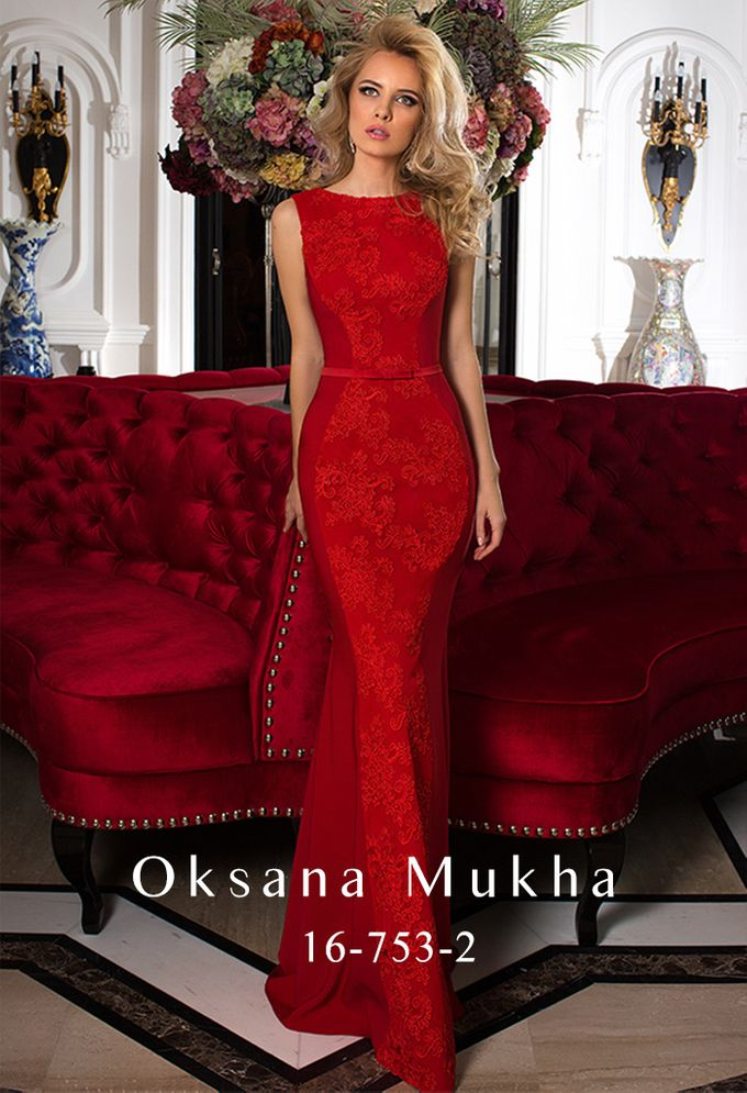 Evening dresses AW 2016-2017 by OKSANA MUKHA - 002