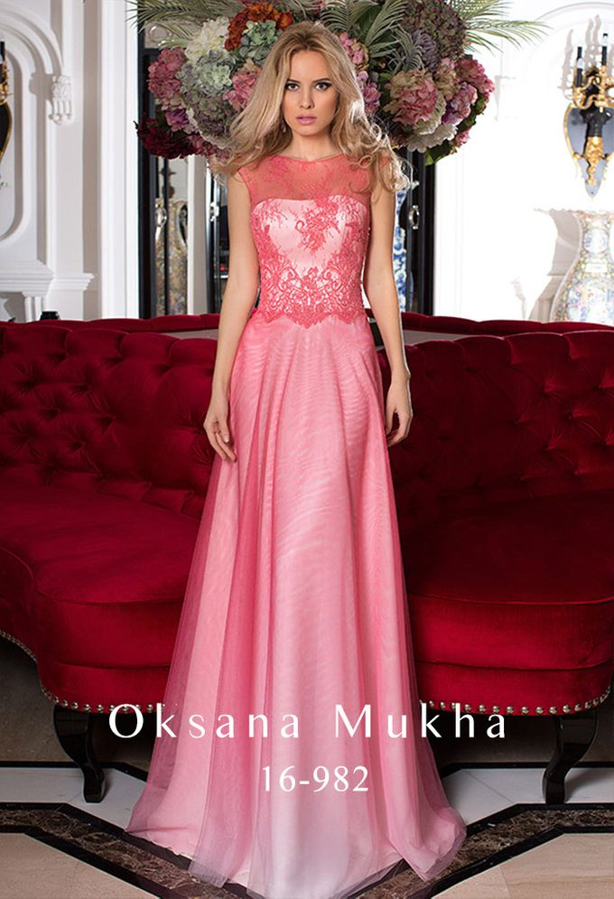 Evening dresses AW 2016-2017 by OKSANA MUKHA - 004