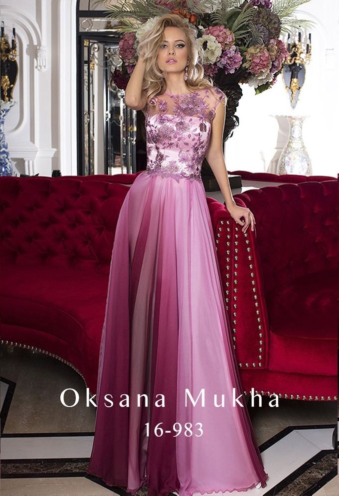 Evening dresses AW 2016-2017 by OKSANA MUKHA - 005
