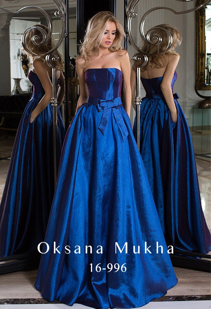 Evening dresses AW 2016-2017 by OKSANA MUKHA - 009