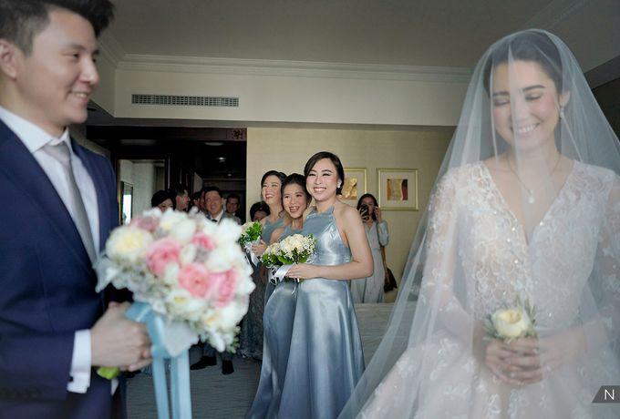 Felix & Hanna Wedding by Shangri-La Hotel - 016