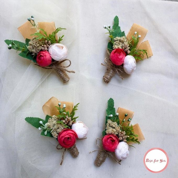 Boutonniere & Corsage by Rose For You - 016