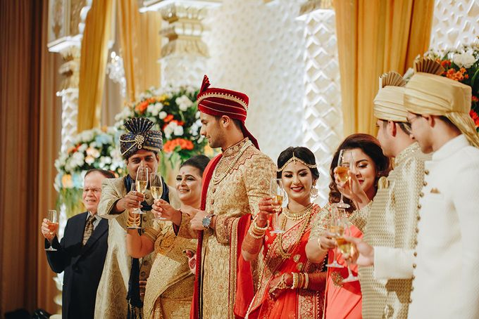 Sahil & Sita Wedding by Hilda by Bridestory - 012