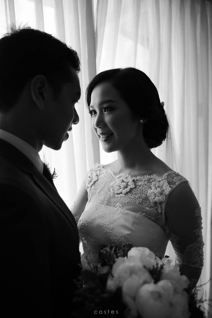 Wedding Day of Alisa & Kevin by Costes Portrait - 023