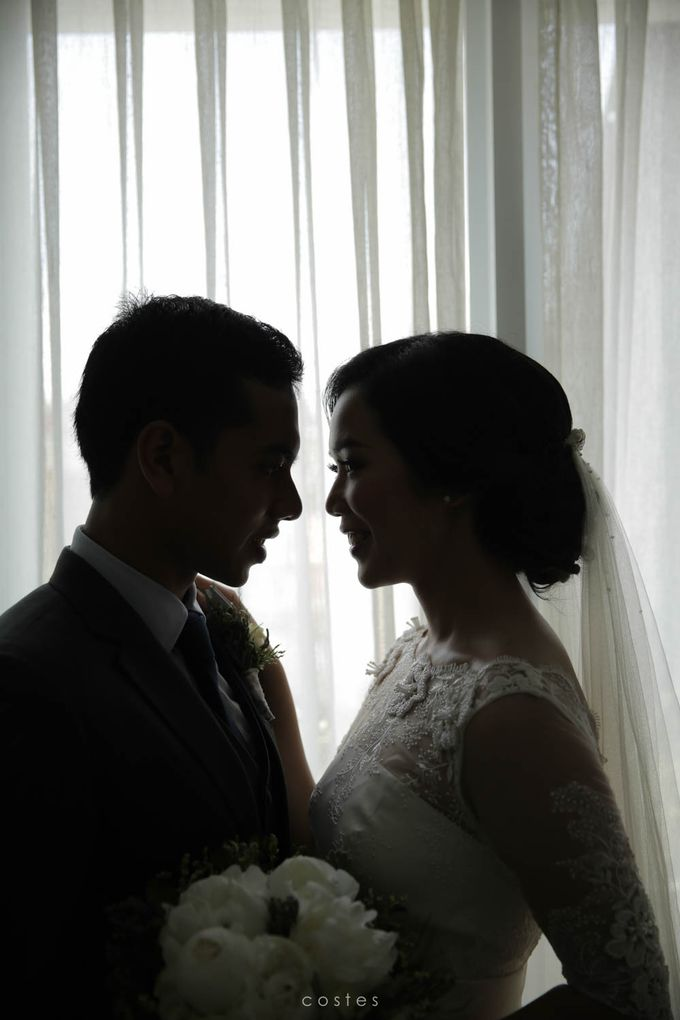 Wedding Day of Alisa & Kevin by Costes Portrait - 024