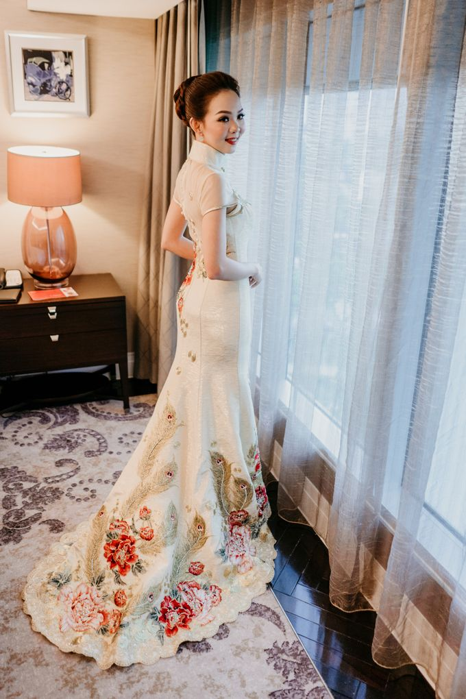 The Wedding of Leon & Audrey by Hotel Indonesia Kempinski Jakarta - 015