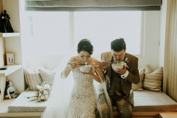 The Wedding of Carin & Stephen by Costes Portrait - 020