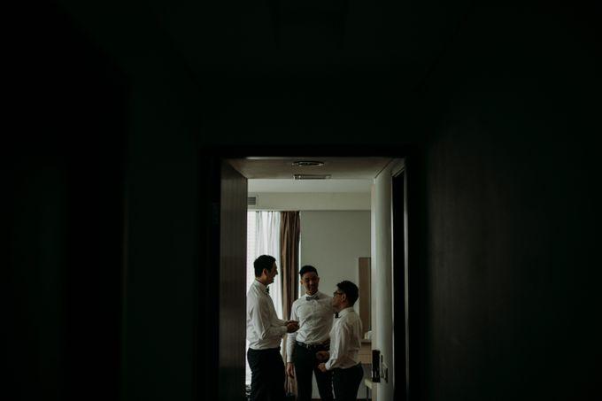 Nicole & Daniel Wedding at Menara Imperium by AKSA Creative - 014