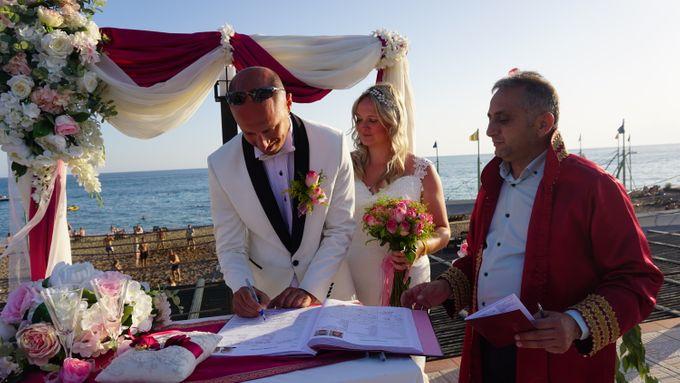 Wedding by the sea in Antalya -Lucy & Daniel- by Wedding City Antalya - 015