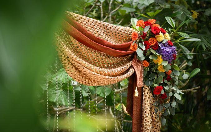 Minangkabau Traditional wedding set up at The Glass House by Tirtha Bridal - 016