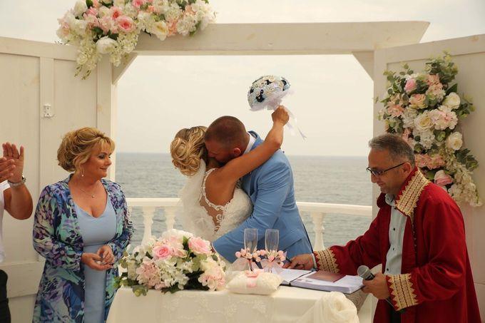 Mica & Ross British wedding by Wedding City Antalya - 016
