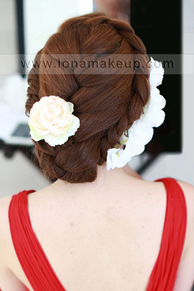 Bridal Hair by Lona Makeup - 015