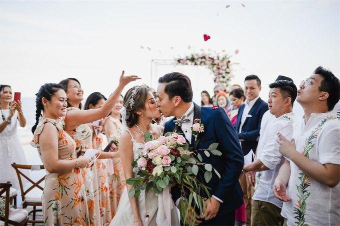 The Wedding of Donald & Larissa by BDD Weddings Indonesia - 016
