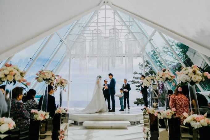 The Wedding of Larrie & Vivienne by BDD Weddings Indonesia - 016
