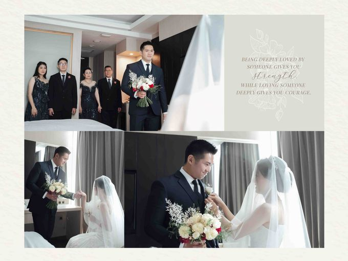 Hold my hand, my heart, and hold me forever ❤ by Gorgeous Bridal Jakarta - 005