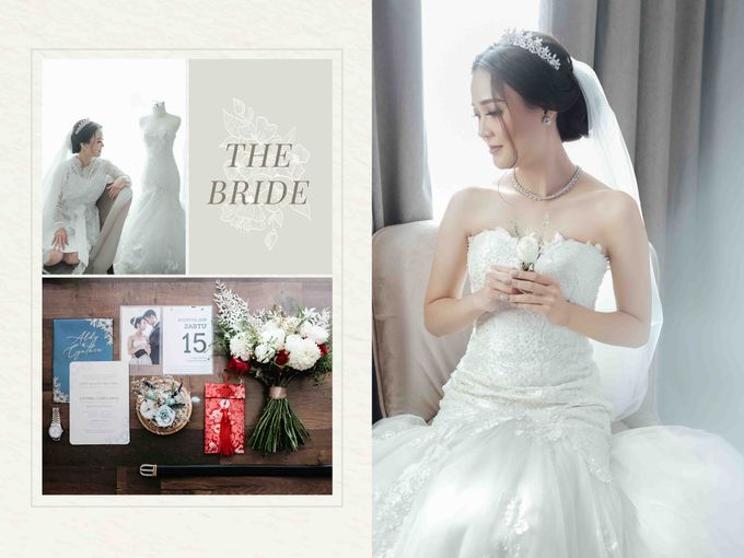 Hold my hand, my heart, and hold me forever ❤ by Gorgeous Bridal Jakarta - 003