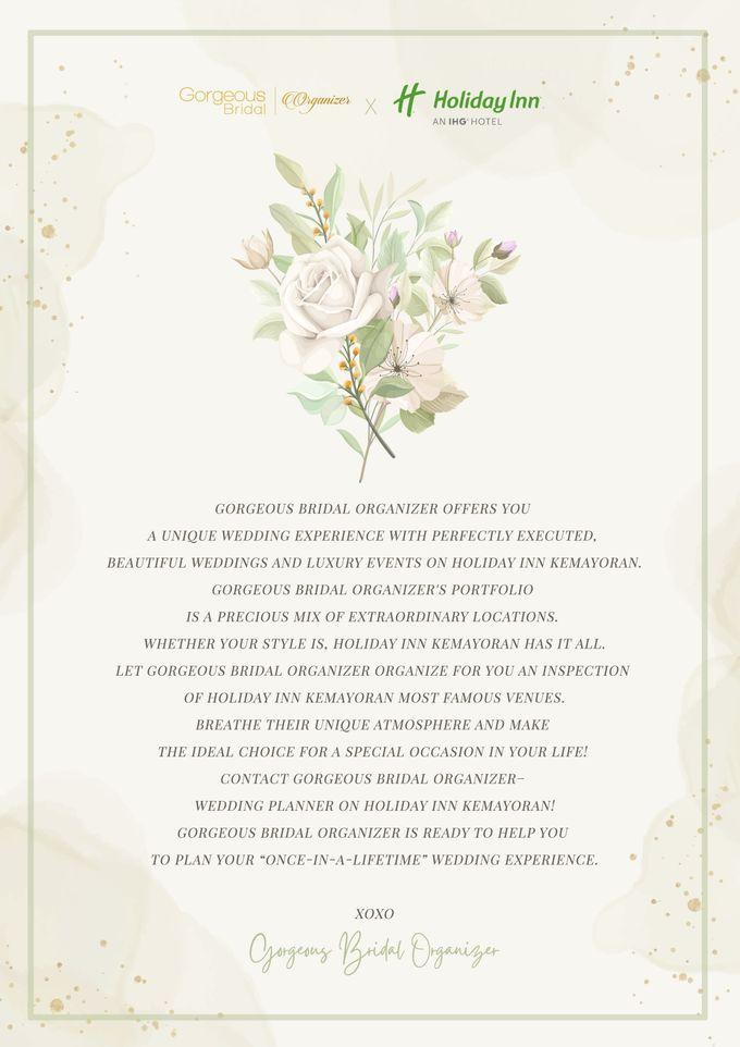 Gorgeous Bridal Organizer X Holiday Inn by Gorgeous Bridal Jakarta - 001