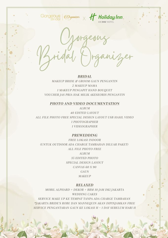 Gorgeous Bridal Organizer X Holiday Inn by Gorgeous Bridal Jakarta - 002