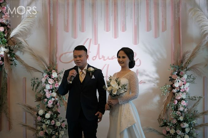 The Wedding of Amanda & Adrian by Raffles Jakarta - 010