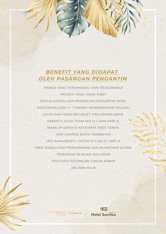 Gorgeous Bridal X Santika Premier Hayam Wuruk by Gorgeous Bridal Jakarta - 005