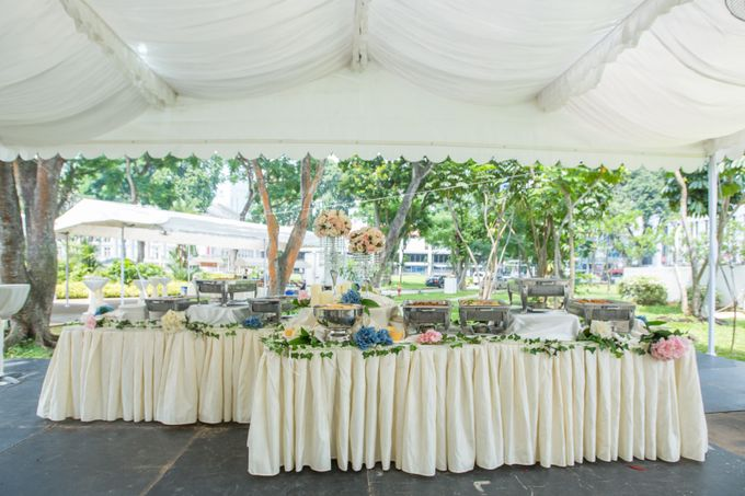 St Andrews Cathedral Wedding by Manna Pot Catering - 003