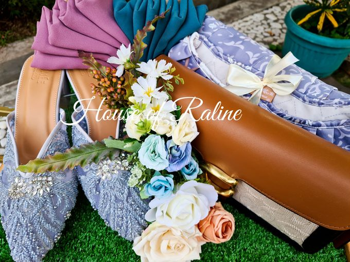 Rustic With Cream White Baby Blue by House of Raline Wedding Hampers - 002
