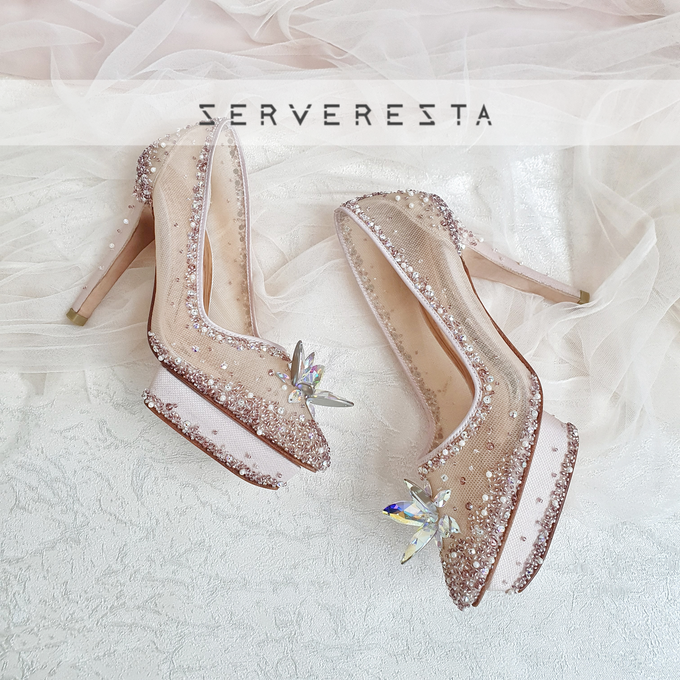 Listine Flower Crystal - Rosegold by SERVERESTA - 002