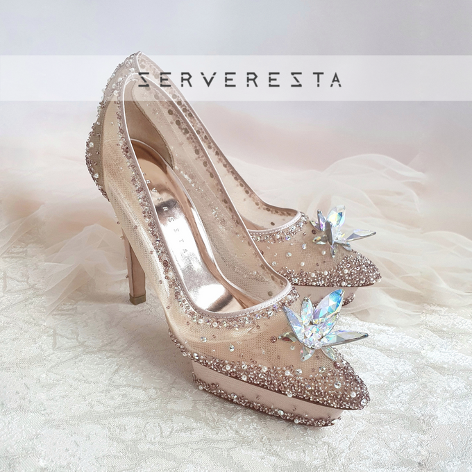 Listine Flower Crystal - Rosegold by SERVERESTA - 003