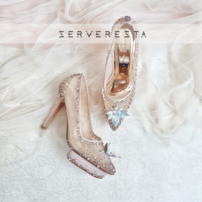 Listine Flower Crystal - Rosegold by SERVERESTA - 004